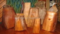 Highwarp Tapestry - Bangalow Palm Pieces