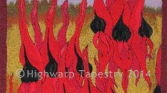 Highwarp Tapestry - Desert Pea