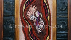 Highwarp Tapestry - Long Beaked Corella