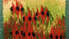 Highwarp Tapestry - Small Field Of Desert Peas
