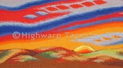 Highwarp Tapestry - Abstract Landscape