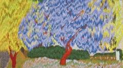 Highwarp Tapestry - Jacaranda
