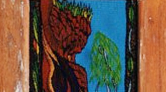 Highwarp Tapestry - Mother Nature With A Green Mohawk