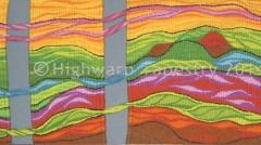 Highwarp Tapestry - Permaculture Landscape