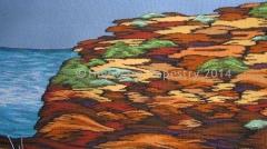 Highwarp Tapestry - Cliff At Bondi