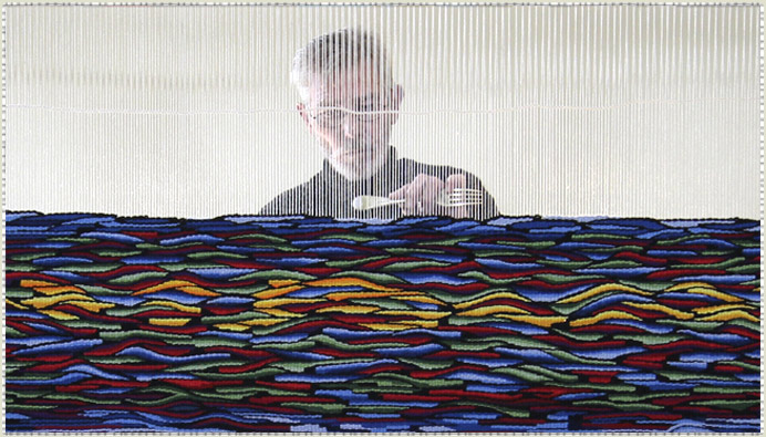 Highwarp Tapestry - Graeme Endean - Behind The Loom - highwarptapestry.com.au