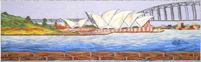 Highwarp Tapestry - Graeme Endean - Sydney Opera House